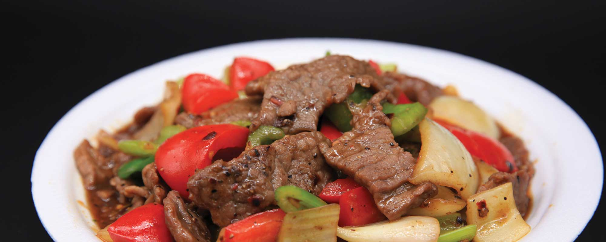 Black Peppered Beef